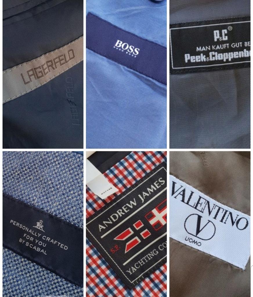 6 marynarek Valentino Lagerfeld BOSS Scabal Peek