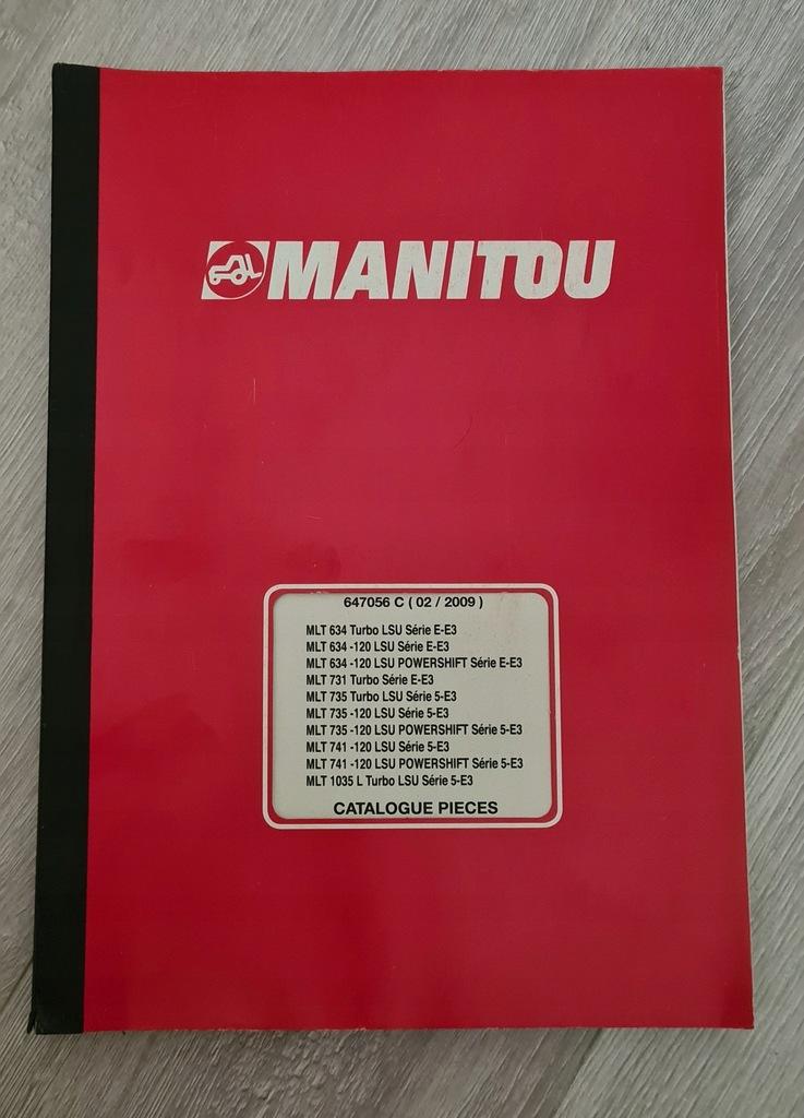 Katalog części Manitou MLT 634, 735, 741, 1035 L