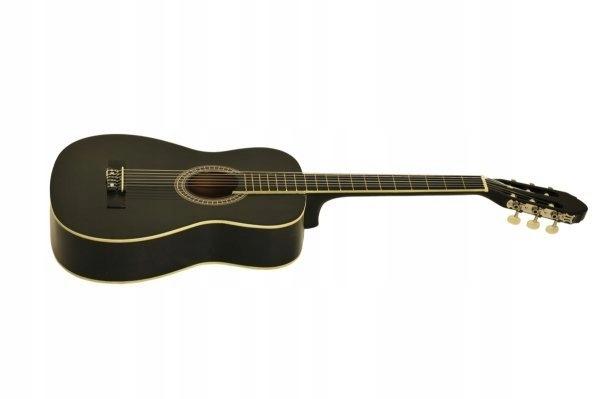 Gitara Klasyczna CG-1 Black 3/4+ tuner