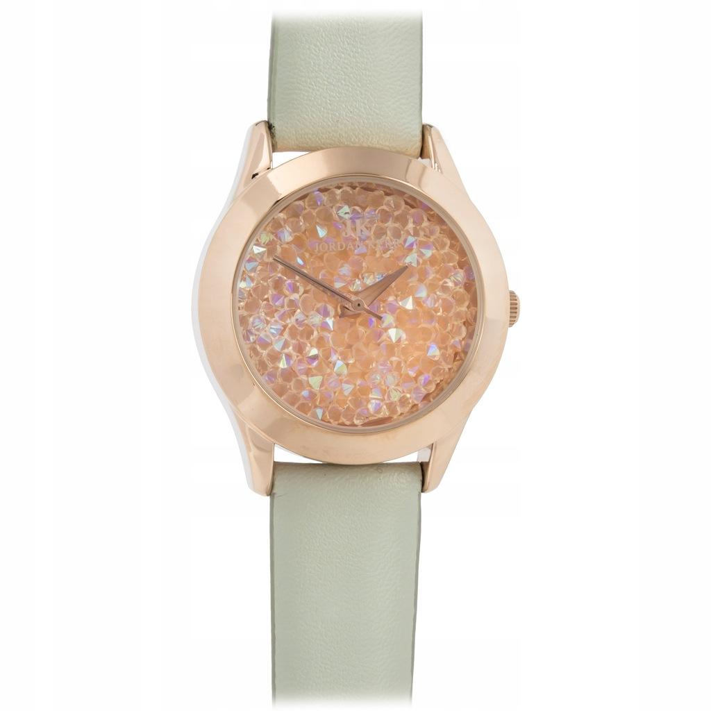 Zegarek damski z kryształkami Jordan Kerr 3lata gw