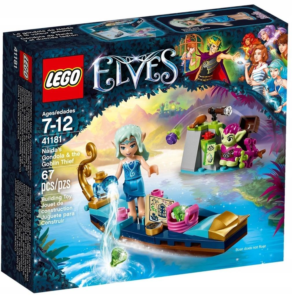 LEGO ELVES 41181 GONDOLA NAIDY GOBLIŃSKI ZŁODZIEJ
