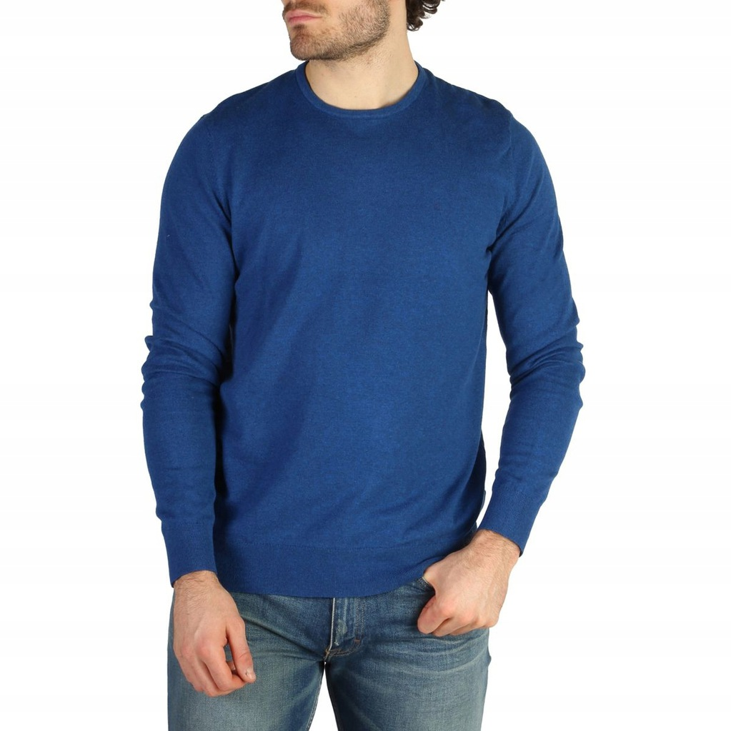 Sweter Męski Calvin Klein - J30J304649 - Niebies M
