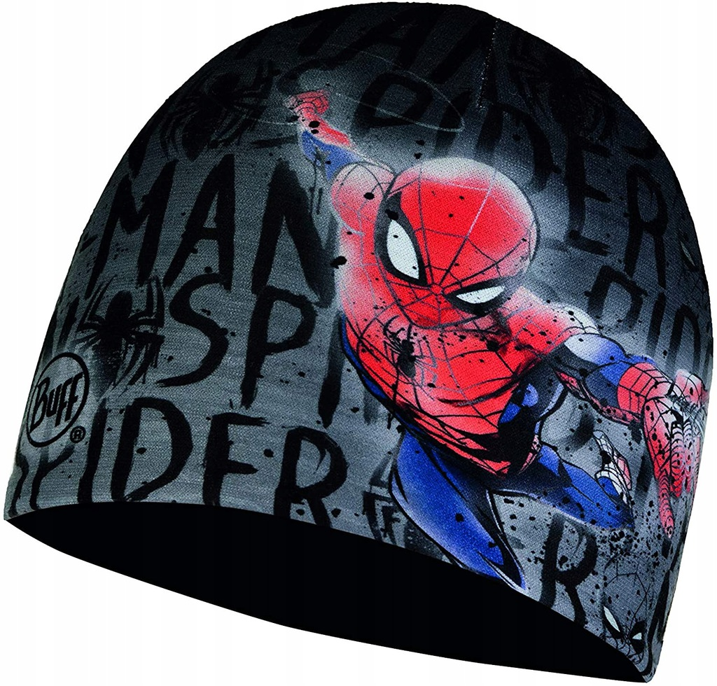R1550 Buff Microfiber Spider Man czapka junior