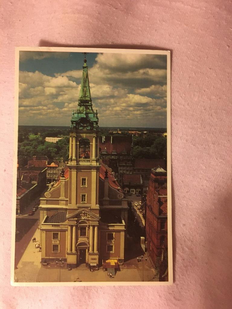 Pocztówka Toruń