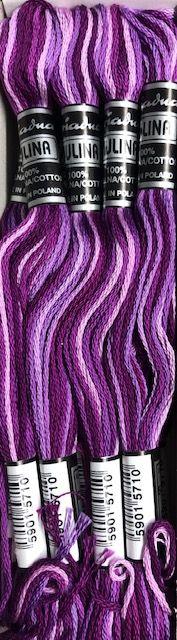 Mulina Ariadna cieniowana bawełniana 12szt 5058