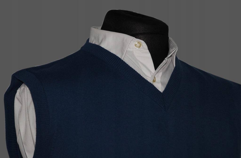 Bezrękawnik męski blue jeans M produkt polski