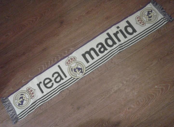 Szalik Real Madryt Madrid szal ŁKS Łodz