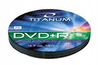 TITANUM 1220 - DVD+R [ soft pack 10 | 4.7GB | 8x ]