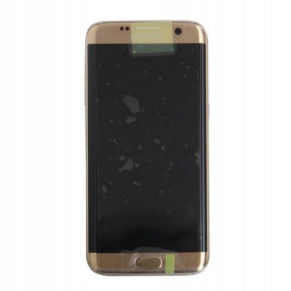 SAMSUNG GALAXY S7 EDGE G935 LCD SZYBKA RAMKA GOLD