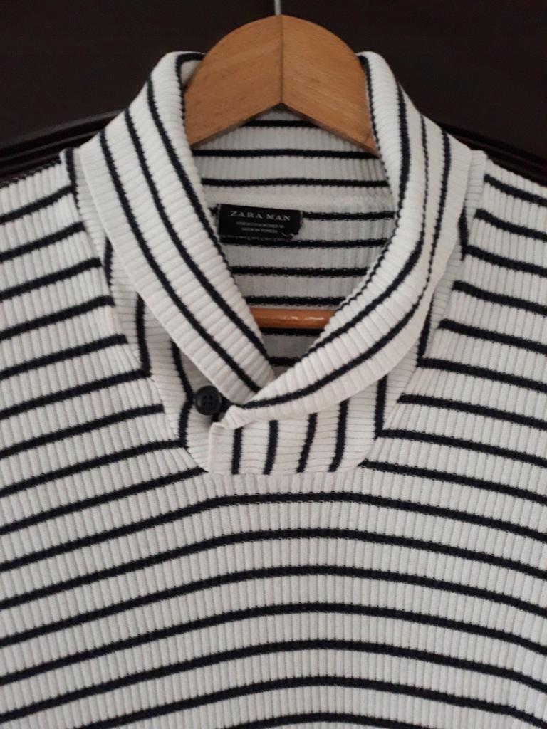 Zara sweter męski 40