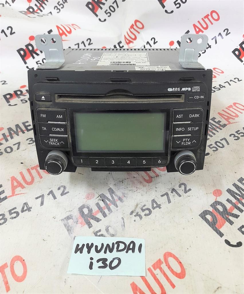 HYUNDAI i30 07-12 r. RADIO MP3 RADIOODTWARZACZ