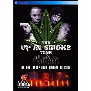 DVD V/A Up In Smoke Tour