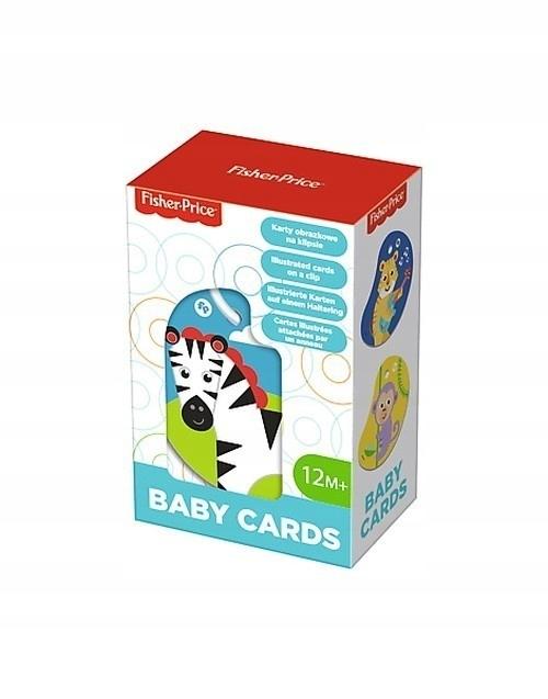 Karty obrazkowe na klipsie Baby Cards Zwierzęta (