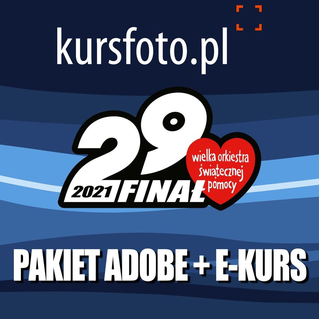 Pakiet programów Adobe i e-kurs Adobe Photoshop