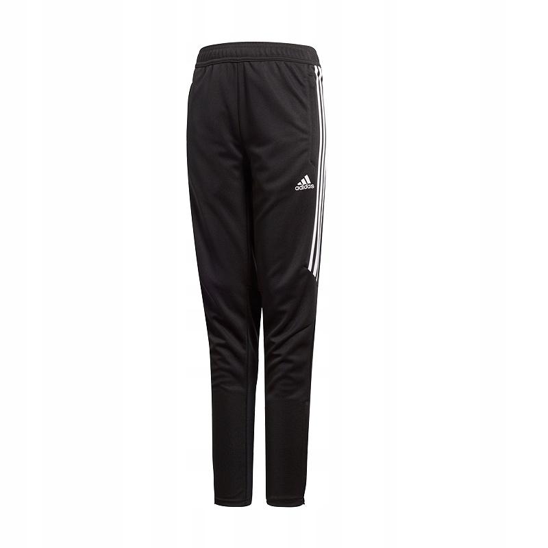 Spodnie Adidas dresowe Junior dresy Tiro 17 BS3690 czarny