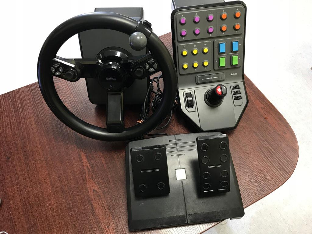 Kierownica Logitech Saitek Do Farming Simulator Pc 8512997000 Oficjalne Archiwum Allegro