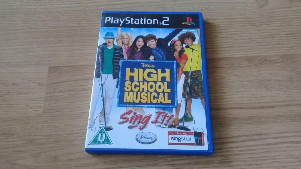 High School Musical: Sing It! na PlayStation 2