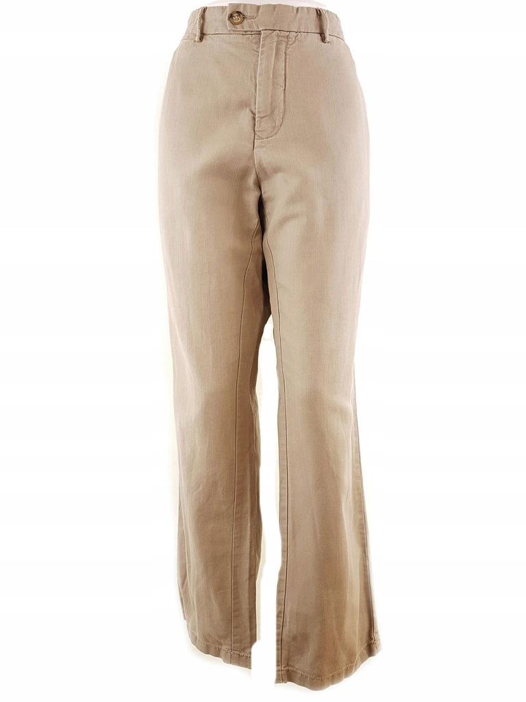 Tommy hilfiger rozmiar 36 Spodnie kieszenie len