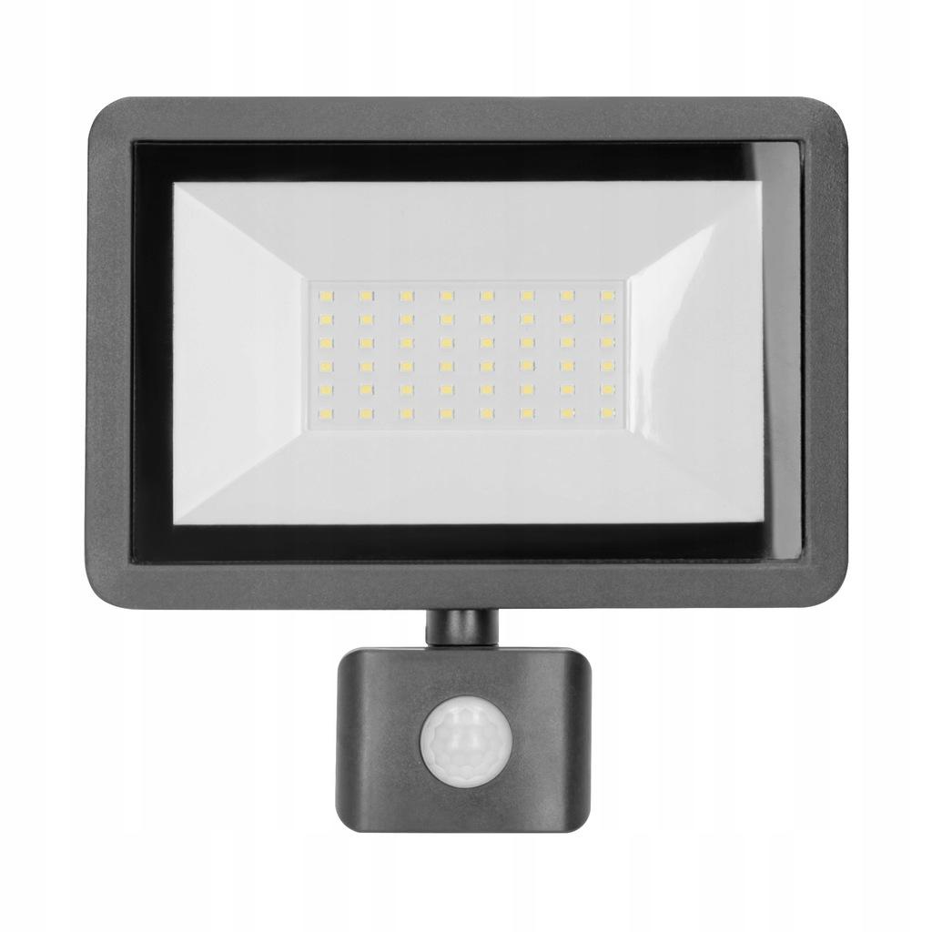 Naświetlacz LED 50W czujnik PIR 4000lm Neutralna