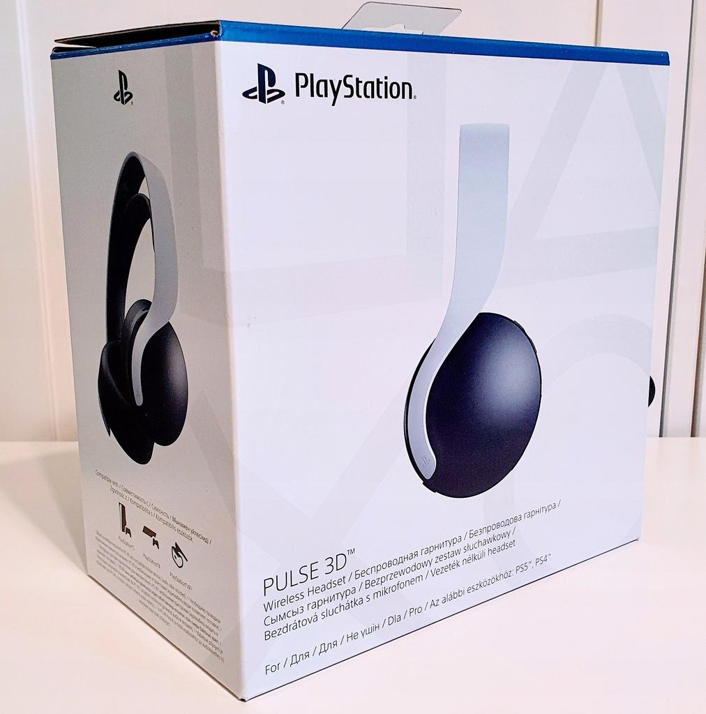 Sony Pulse 3D | Słuchawki bezprzewodowe PS5 | NOWE