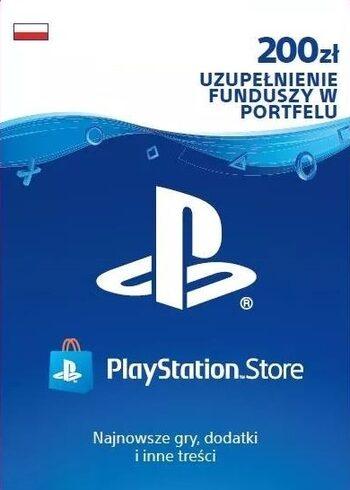 Doładowanie funduszy PlayStation PSN 200zł PS4
