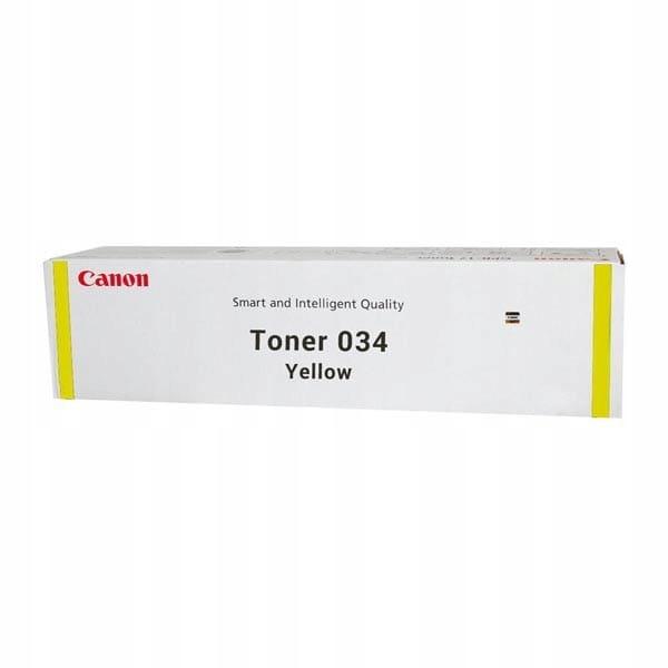 Canon oryginalny toner 34, yellow, 7300s, 9451B001