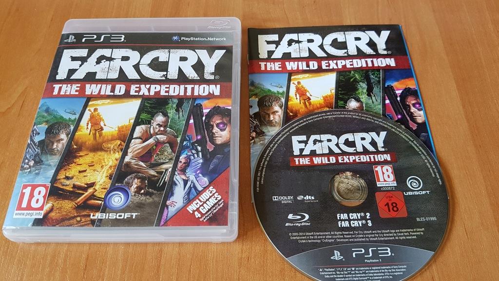 Far Cry The Wild Expedition 3xa Czytaj Opis 8124852808 Oficjalne Archiwum Allegro