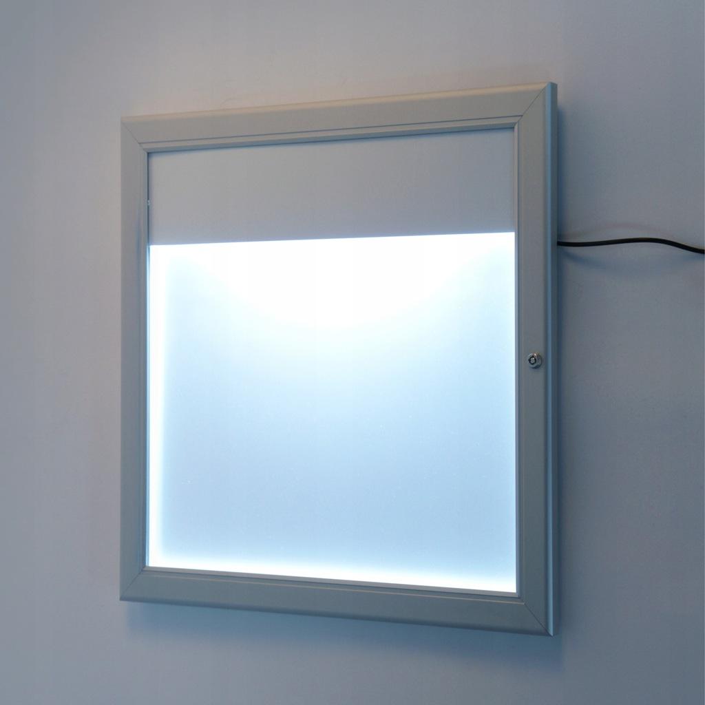 Gablota zewnętrzna na menu z podświetleniem LED 1