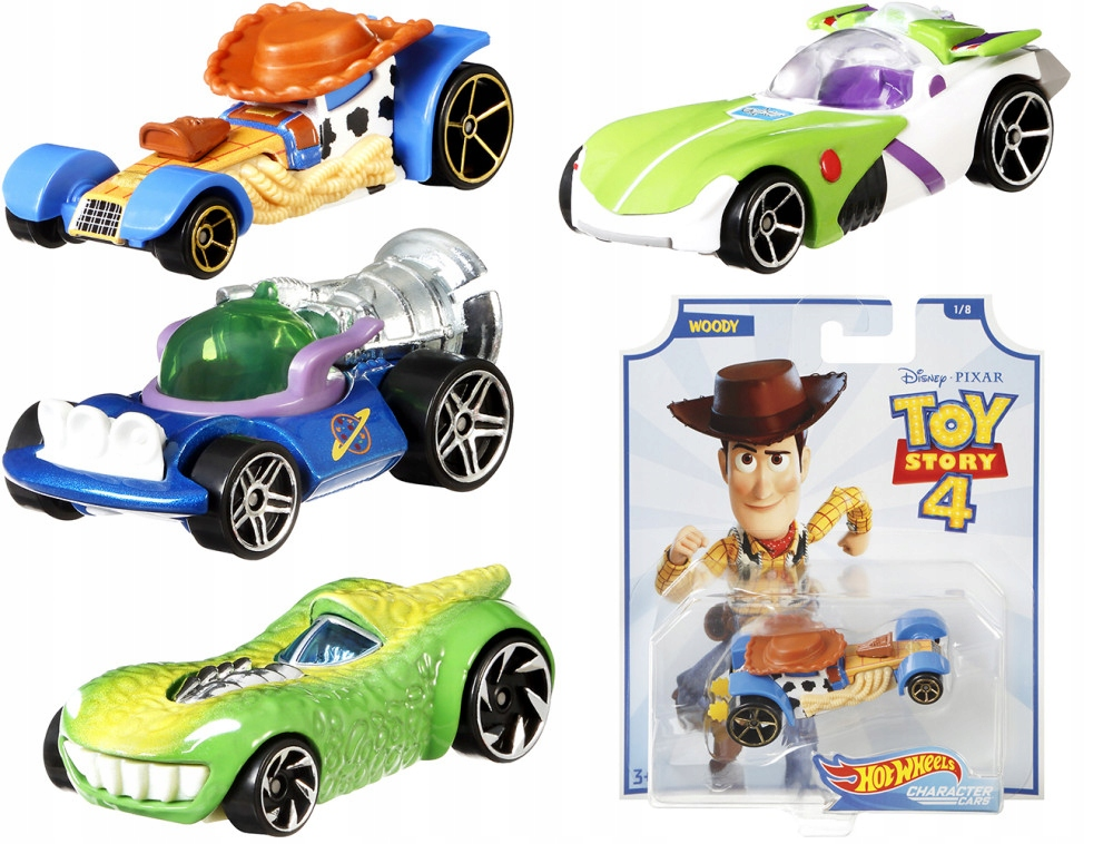 Hot Wheels. GCY52 Samochodzik Toy Story, mix wz...