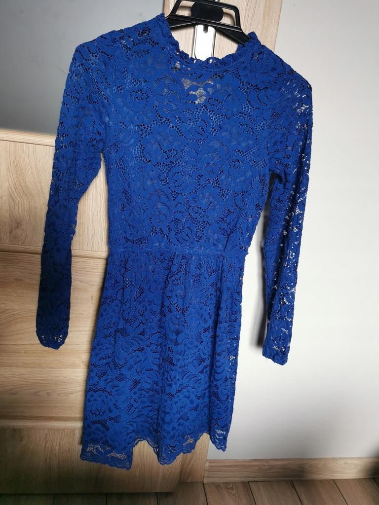 koronkowa sukienka Reserved 152