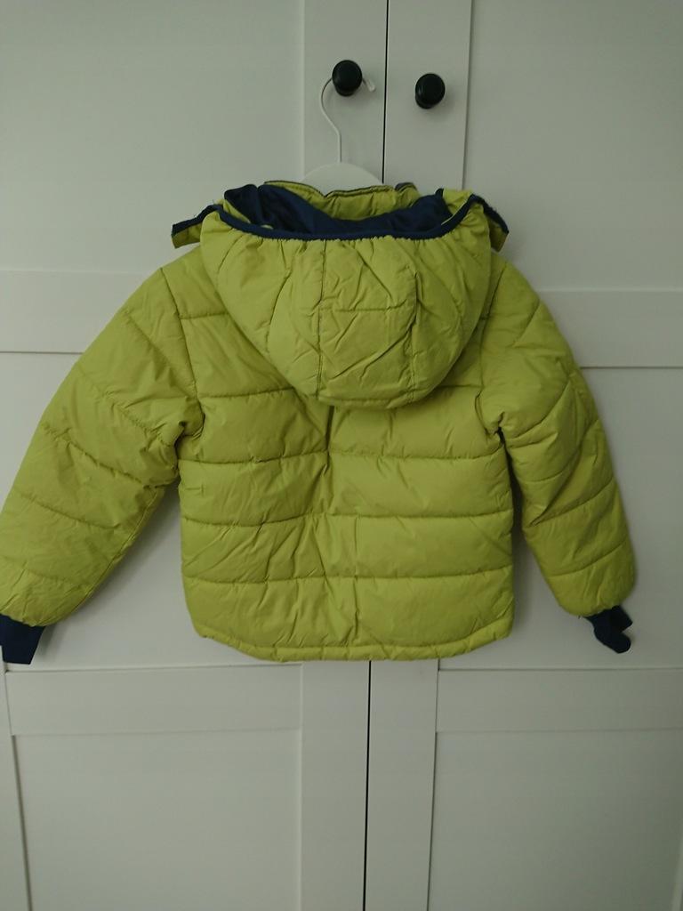 kurtka limonkowa zimowa ca