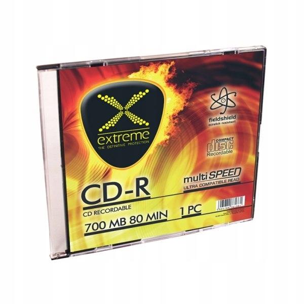 2039 CD-R - Slim Case 1 sztuka Extreme