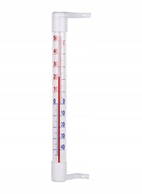 Termometr zaokienny 210/18 mm Biowin 020100