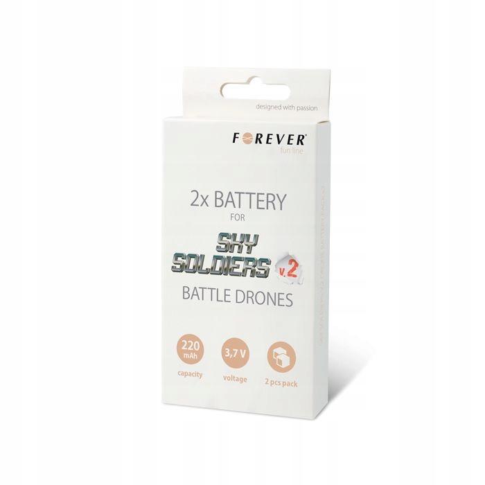 Bateria do drona Forever Sky Soldiers V2 (2szt)
