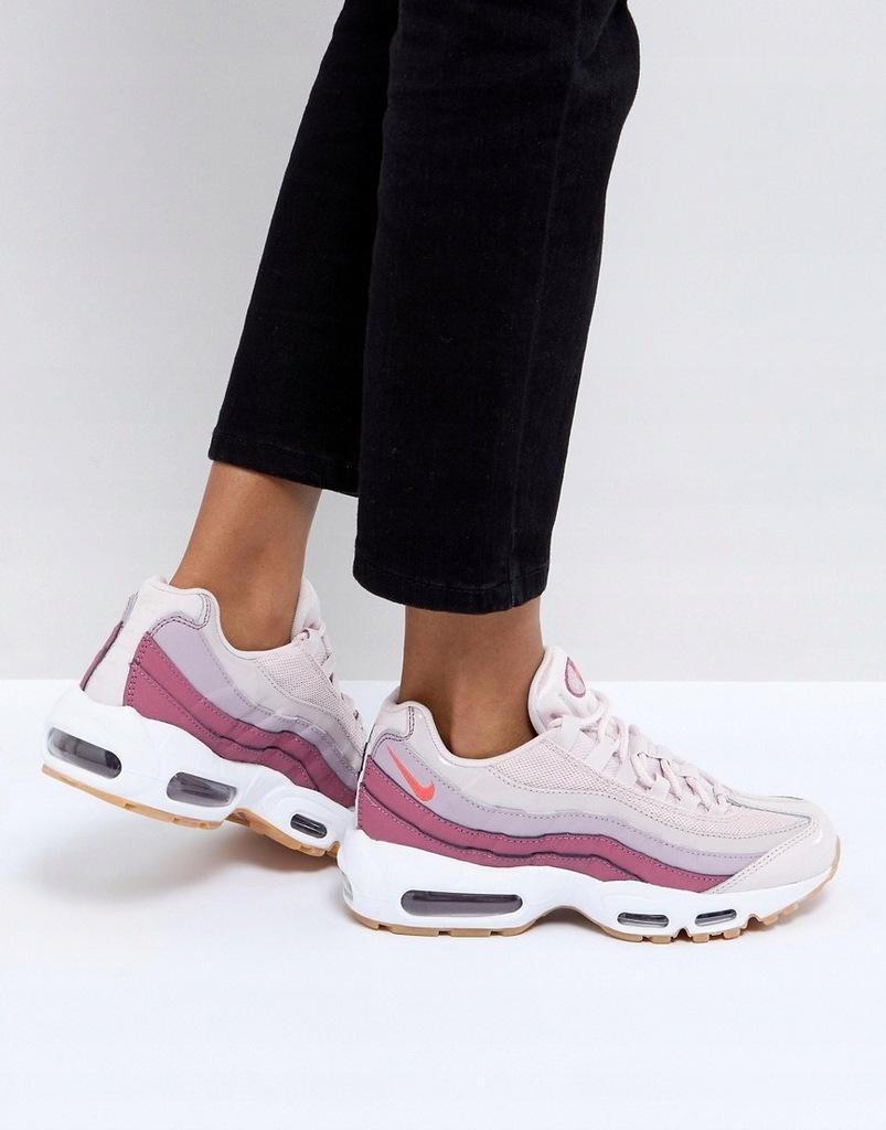 Buty Sportowe Nike Air Max 95 Różowy Damskie