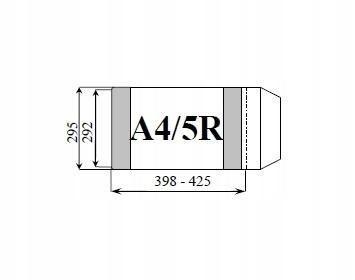Okładka książkowa regulowana A4/5R (25szt) D&D