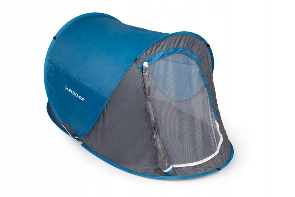 Namiot samorozkładający się turystyczny 2os DUNLOP