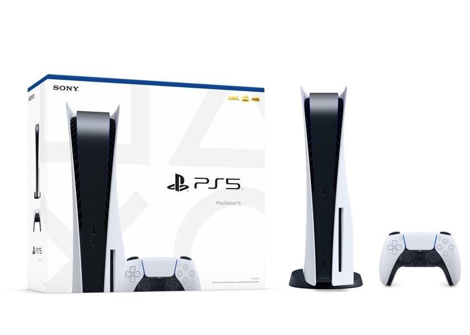 Konsola SONY PlayStation 5 PS5 wersja z napędem