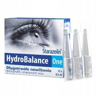 Krople Polpharma Starazolin HydroBalance One 12szt