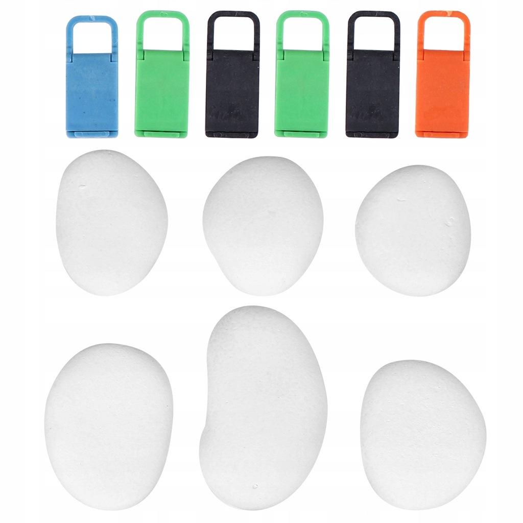 1 zestaw DIY kolorowy rysunek kamienie DIY ręcznie