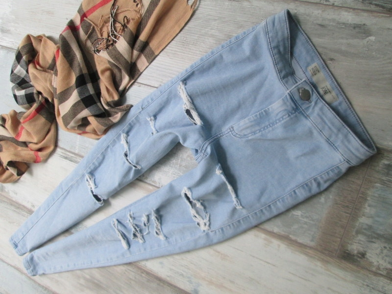 TOPSHOP__ jeans JONI spodnie rurki stretch__26