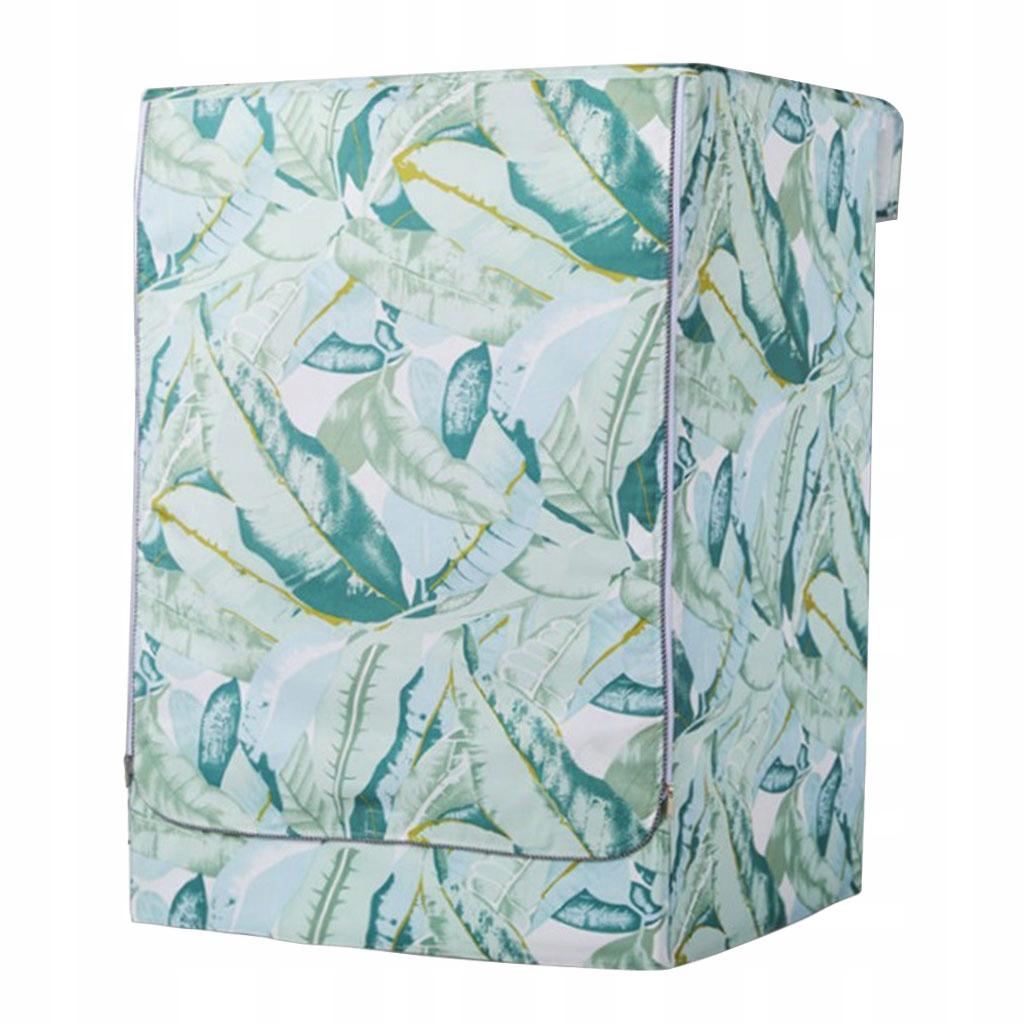 Pokrywa pralki - Zielone Liście-L