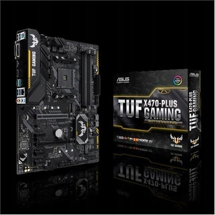 Asus TUF X470-PLUS GAMING Processor family AMD, Pr