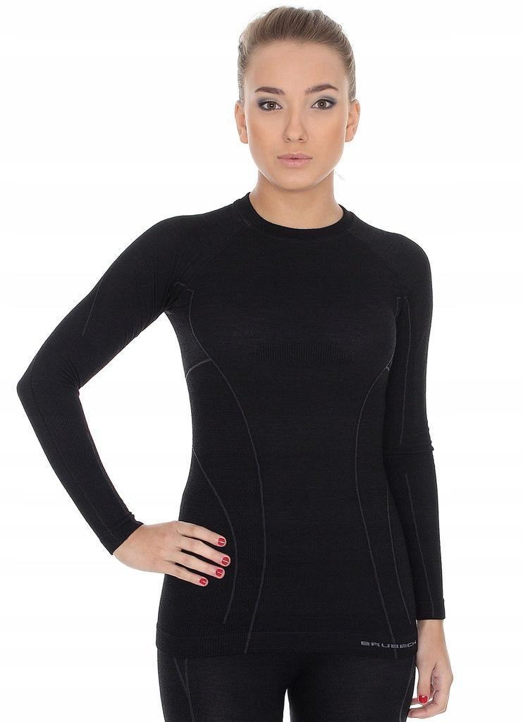 L-Koszulka damska termoaktywna BRUBECK Active Wool