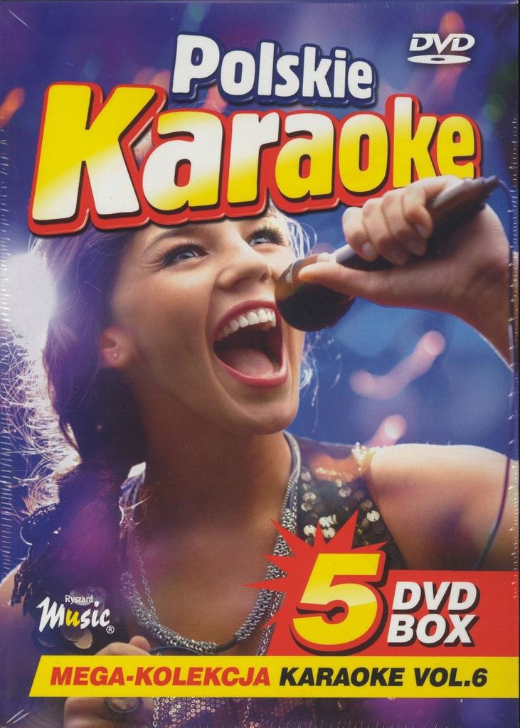 POLSKIE KARAOKE 5 DVD-BOXvol. 6 [26+27+28+29+30]