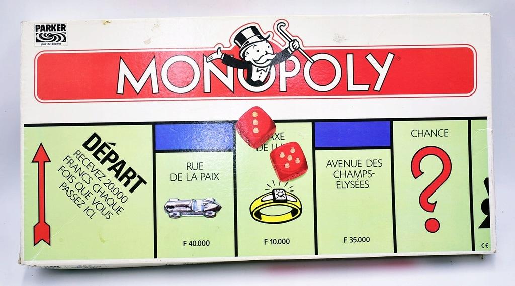 9118-37 ...PARKER MONOPOLY... k#o GRA EKONOMICZNA