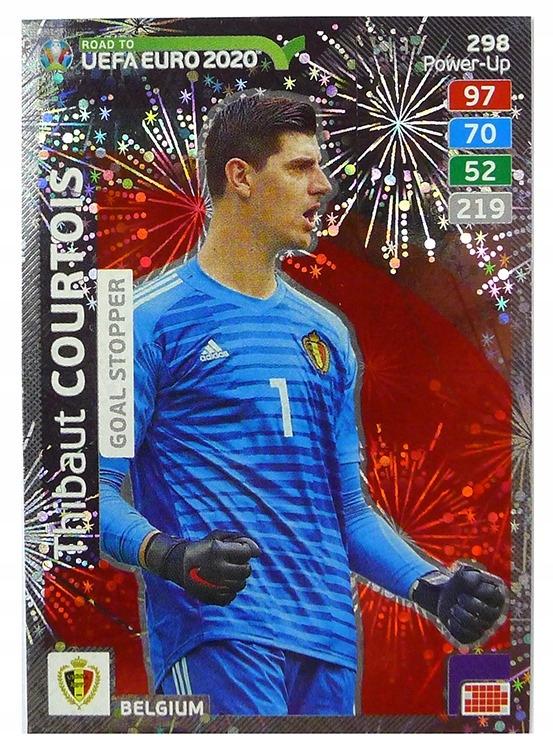 Karty Road To Euro 2020 Goal Stopper Courtois 298 8036361750 Oficjalne Archiwum Allegro