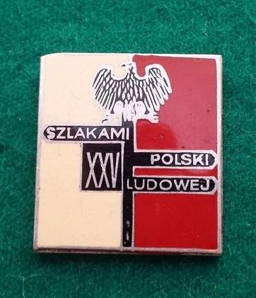 Odznaka-Szlakami Polski Ludowej 1970r. LWP