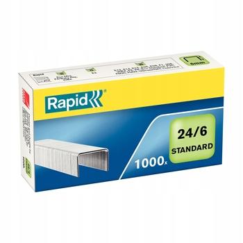 Zszywki Rapid Standard 24/6 1M