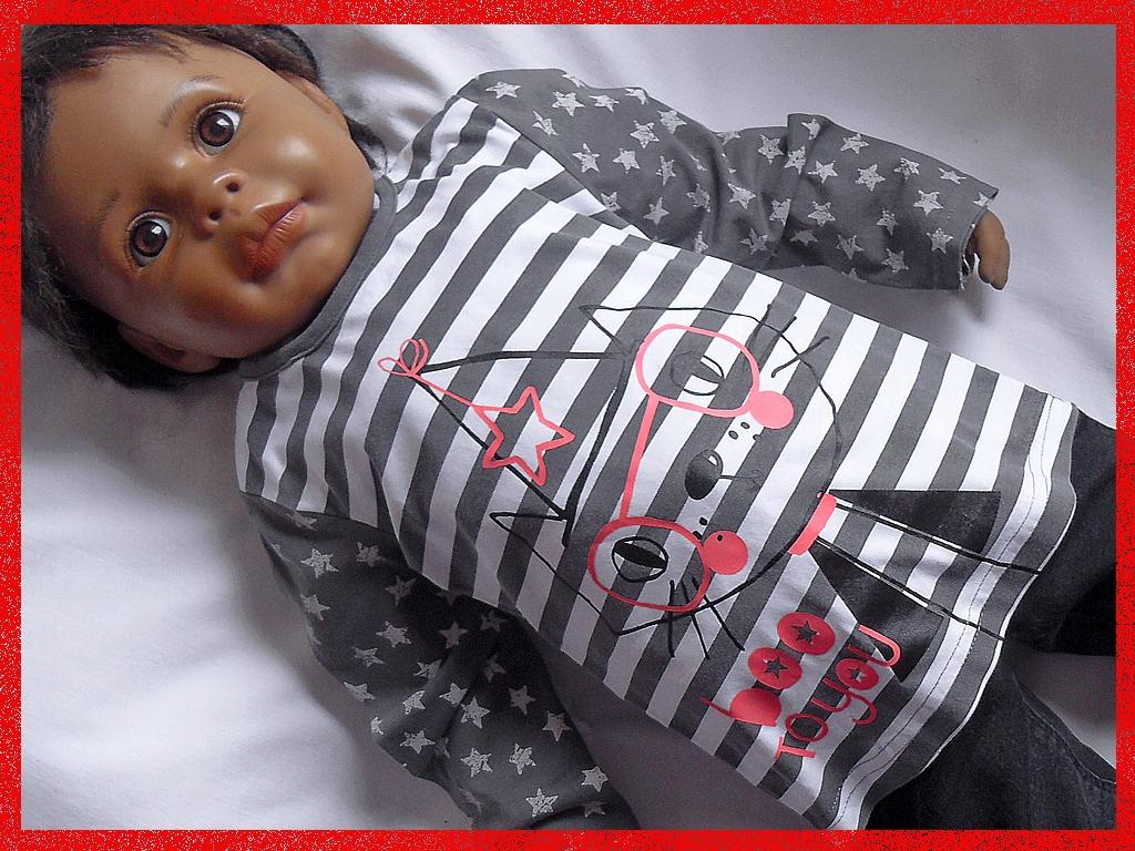 Bluzka w paski dla córki GEORGE, 92-98cm 2-3 lata